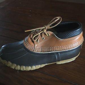 LL Bean Rubber Moc Rain Boots